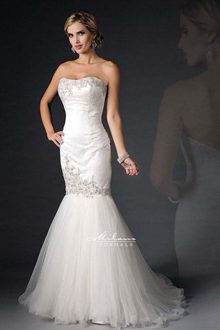 MERMAID BEADEDWEDDING DRESS