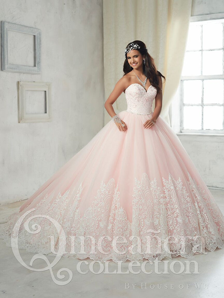 2017 Beautiful quinceanera, sweet 16, engagement ball gown dress by ...