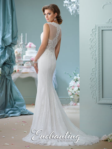 2016 Enchanting Slim Trumpet Wedding Gown Collection By Mon Cheri