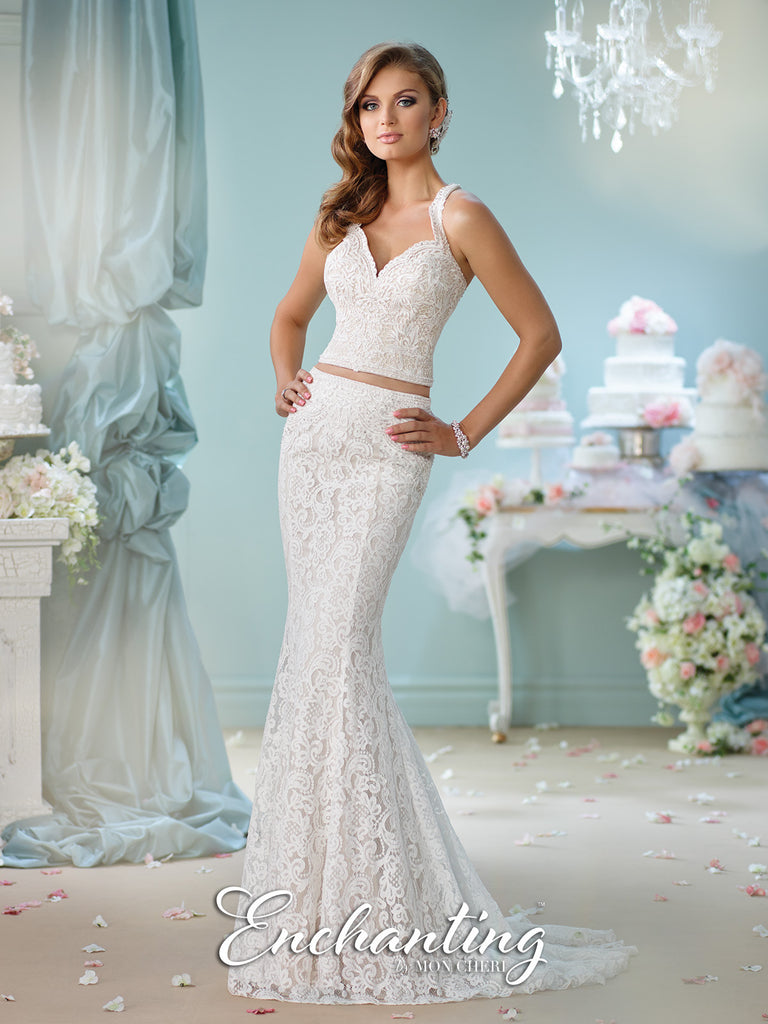 2016 Enchanting Two-Pieces Wedding Gown Collection By Mon Cheri ...