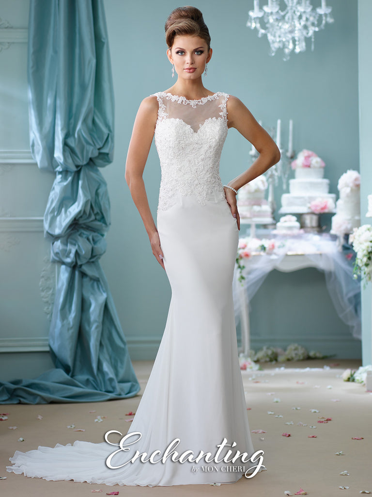2016 Enchanting Trumpet Wedding Gown Collection By Mon Cheri