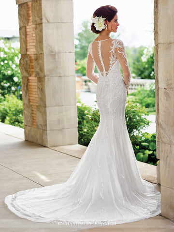 2017 Enchanting Fit and Flare Wedding gown Collection By Mon Cheri ...
