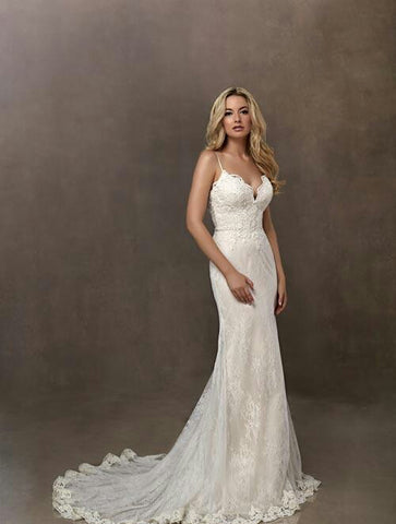 Wedding dress lace by Designer