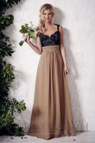 Bridesmaid dress house of Wu..