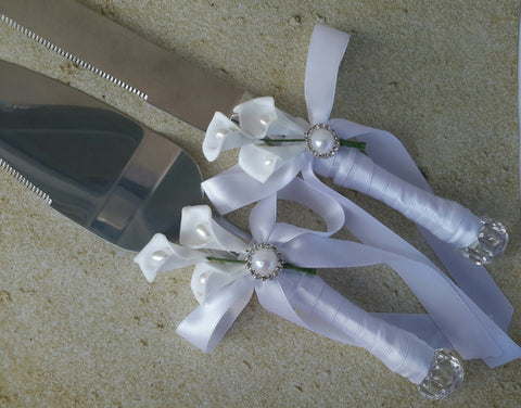 Wedding accessories cake server knife se