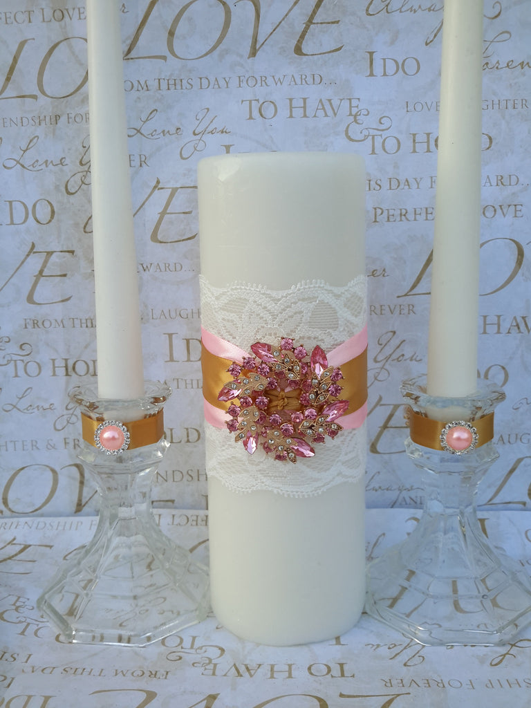 Wedding accessories unity candle