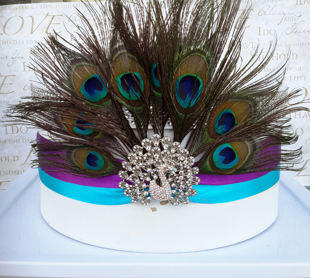 Wedding accessories money card holder peacock