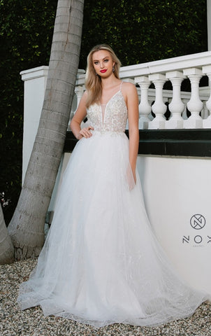 Wedding dress by Designer