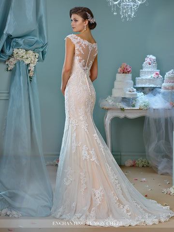 Lace Wedding Dress Fit and Flare