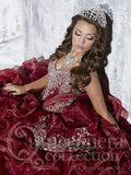 Beautiful quinceanera, sweet 16, engagement ball gown dress designed by House of Wu