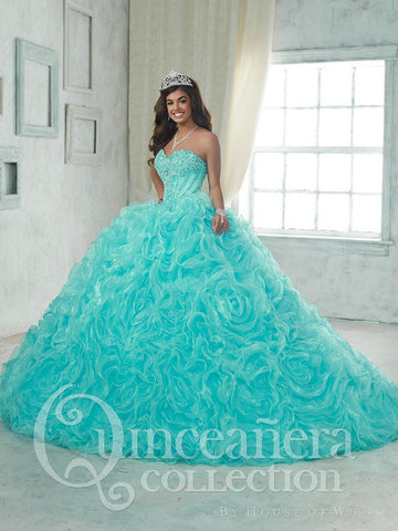 2017 Beautiful quinceanera, sweet 16, engagement two pieces ball gown dress by House of Wu..