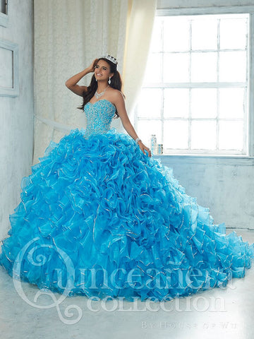 2017 Beautiful quinceanera, sweet 16, engagement ball gown dress by House of Wu..
