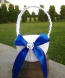 Wedding accessories flower girl basket