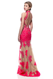 Prom & Evening Lace Jersey Beaded Dresses