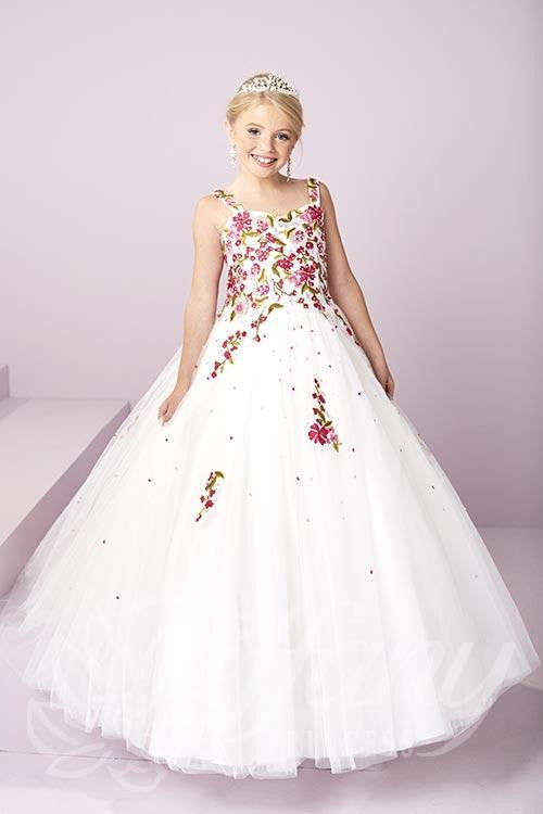 Beautiful Pageant, Flower Girl, ball gown dress by Tiffany Princess ...