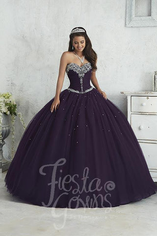 2017 Beautiful quinceañera, sweet 16, engagement ball gown dress by designer House of Wu