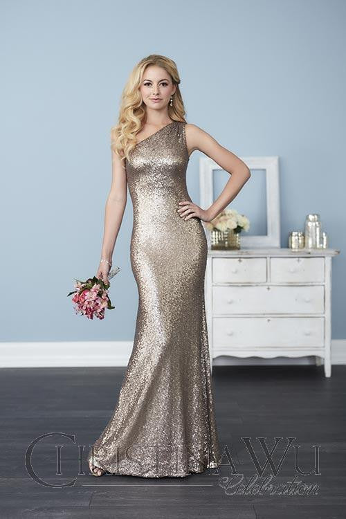 Sequins Bridesmaid dress By House of Wu..