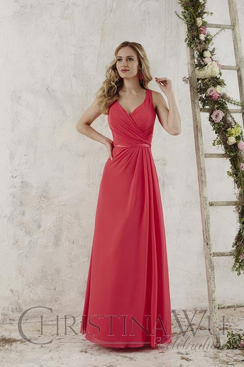 Bridesmaid dress By House of Wu..