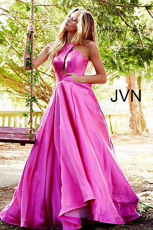 Jovani Designer dresses for prom and evening pink..