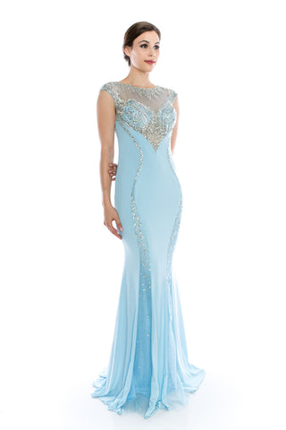 Prom & Evenning Lace Beaded Dresses