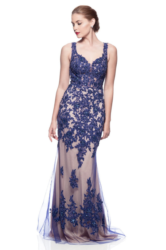 Prom & Evening Lace Beaded Dresses