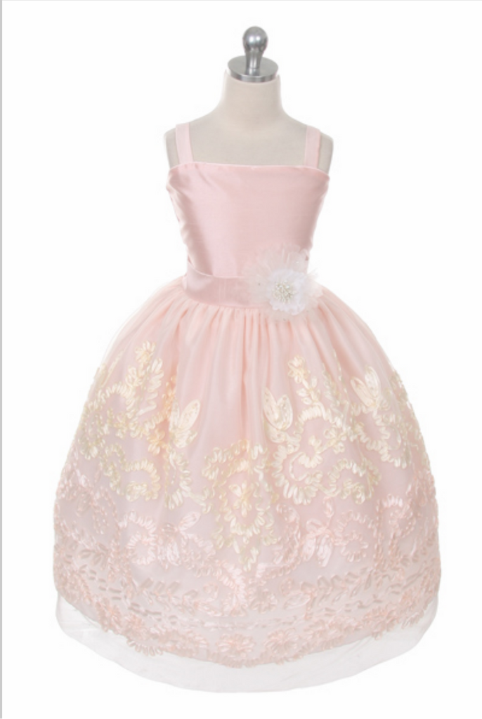 Beautiful Pageant, Flower Girl dress