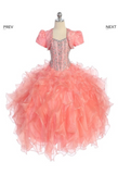 Beautiful Pageant, Flower Girl,  ball gown dress
