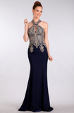 Prom & Evenning Lace Jersey Beaded Dresses