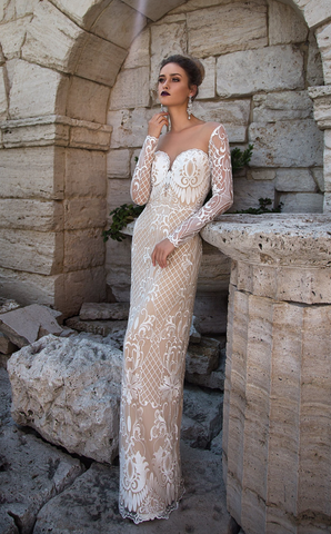 Wedding Gown designer Ida Torez mermaid
