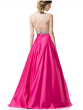Prom & Evening Dresses satin beaded