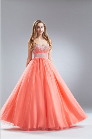 Beautiful quinceanera, sweet 16, engagement ball gown