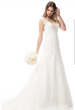 Wedding dress lace SWEETHEART, STRAPLESS mermaid