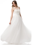 Wedding dress lace A-line SWEETHEART, STRAPLESS