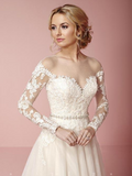 Wedding dress a-line Designer