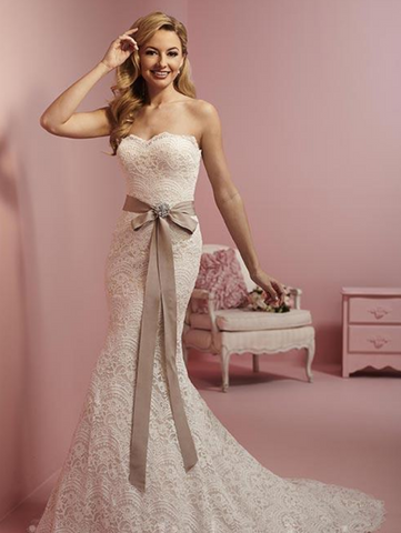 Wedding dress satin  Designer
