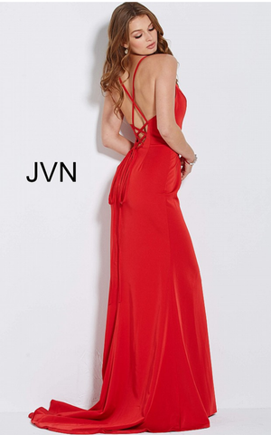 Jovani Designer dresses for prom and evening blue..