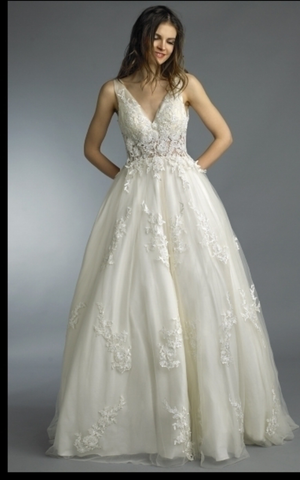 Wedding dress lace Designer