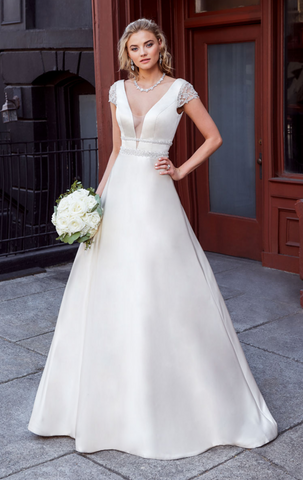 Wedding dress lace by  Designer kitty chen