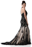 Prom & Evening black lace Long Dresses