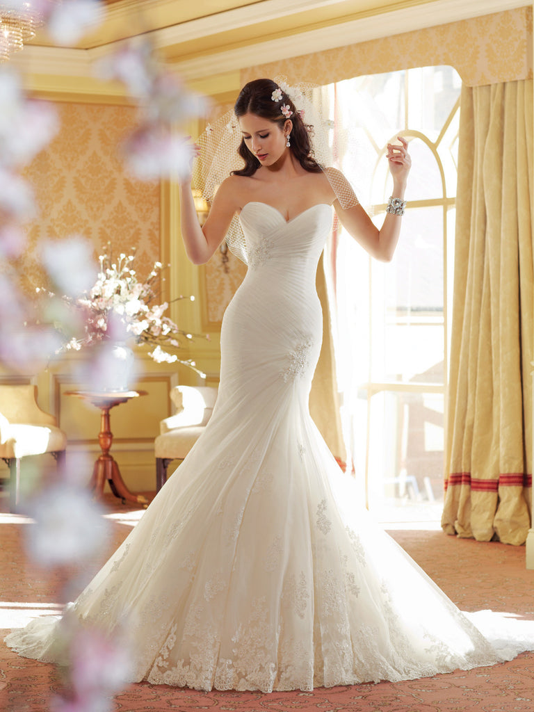 Sophia Tolli Wedding Dress lace A-line ball gown