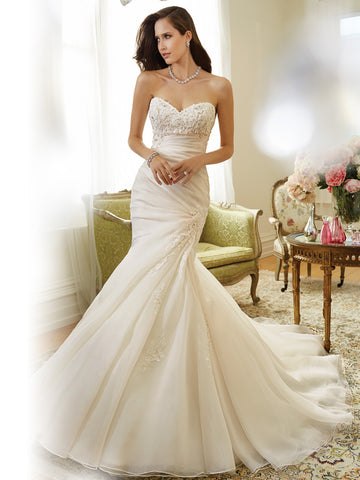 Sophia Tolli Wedding Dress lace mermaid trumpet ball gown