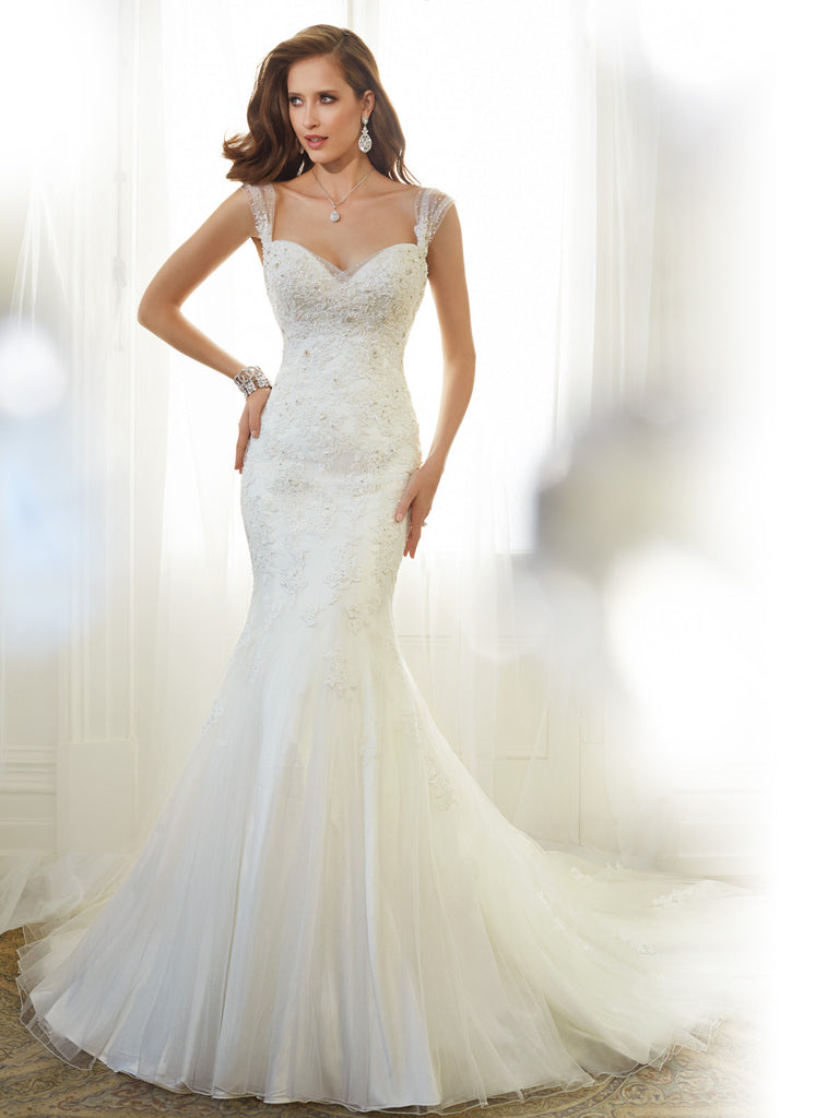 Sophia Tolli Wedding Dress tulle lace mermaid trumpet gown