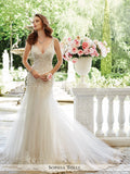 Sophia Tolli Two Pieces Satin and Tulle Wedding Dress