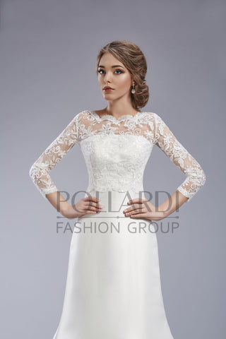 Long Sleeve Wedding Bridal Bolero Jacket