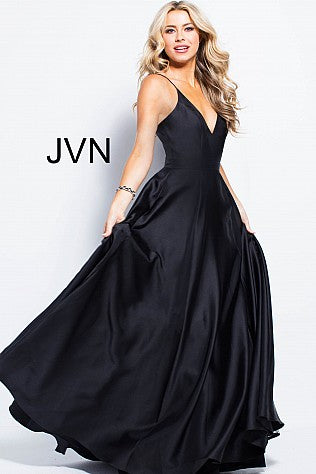 Jovani Designer dresses for prom and evening black..