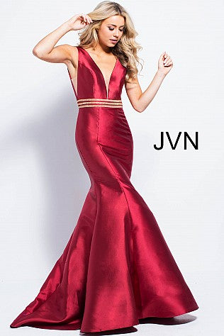 Jovani Designer dresses for prom and evening red black..