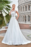 Lace A-line ball Gown Wedding Dress