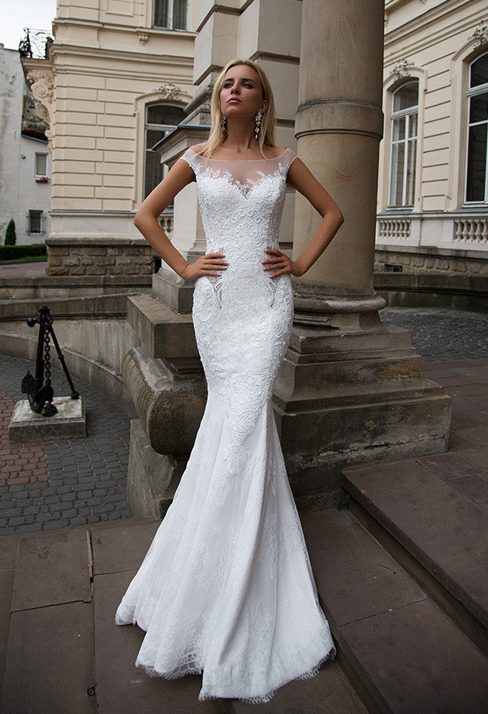 Lace MERMAID wedding dress..