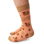 Fun Squirrel Novelty Socks for Women