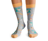 Womens Novelty Stylish BIke socks